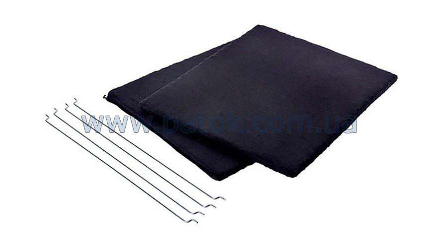 Угольный фильтр (2шт.) для вытяжки 285x245mm Gorenje 185778